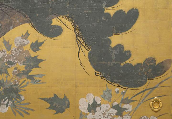 旧祥雲寺客殿障壁画 部分詳細
